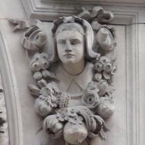 Sir John Cass - Charity girl - bust