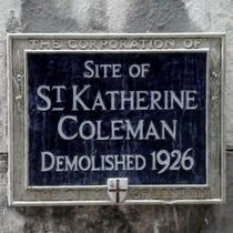St Katherine Coleman