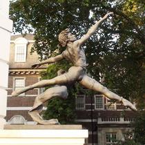 Dancer statue