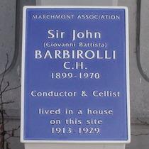 Sir John Barbirolli - Marchmont Street