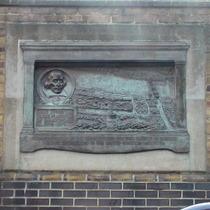 Globe Theatre plaque