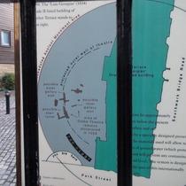 Globe Theatre remains