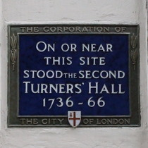 Turners' Hall, second
