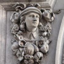 Sir John Cass - Charity boy - bust