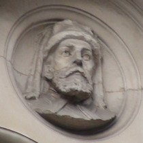 Chaucer bust - SW1