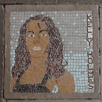 South Bank mosaic - Kelly Holmes