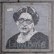 South Bank mosaic - Lilian Baylis