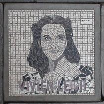 South Bank mosaic - Vivien Leigh