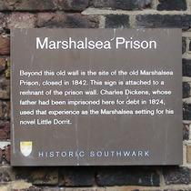 Marshalsea Prison - garden