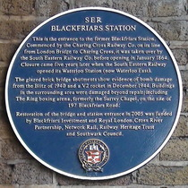 First Blackfriars Station