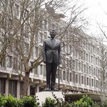 President Reagan statue