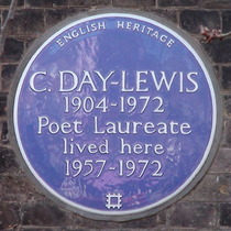 Cecil Day-Lewis - plaque