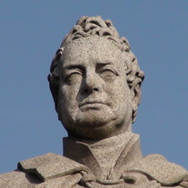 William IV statue