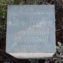 Titanic Memorial Garden