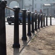 Hyde Park bollards