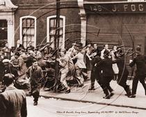 Anti-fascists in Bermondsey