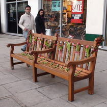 Louise Cattell bench