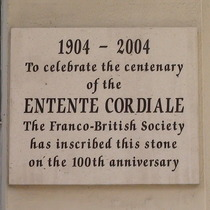 Entente Cordiale - centenary