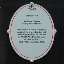 Fireman Sidney Alfred Holder