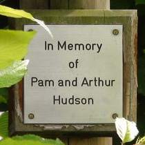 Pam and Arthur Hudson