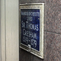 Sir Thomas Gresham - Old Broad Street