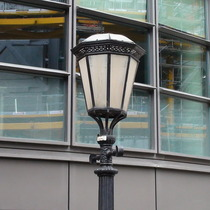 P&O lamp-posts