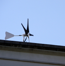 First residential roof-top wind turbines