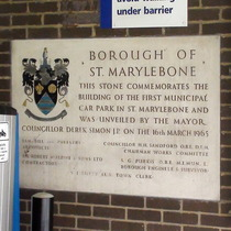 Marylebone's first car park