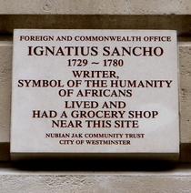Ignatius Sancho - SW1