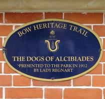 Dogs of Alcibiades - plaque
