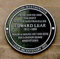 Edward Lear - Stratford Place