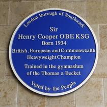 Sir Henry Cooper - SE1
