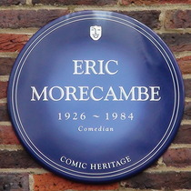 Teddington Studios - Eric Morecambe