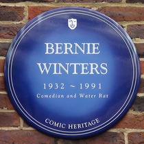 Teddington Studios - Bernie Winters