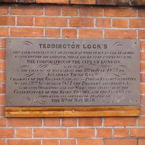 Teddington Lock - 1858