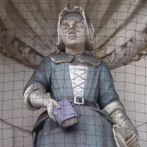 Sir John Cass Foundation, Aldgate - Charity girl