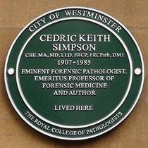 Professor Cedric Keith Simpson