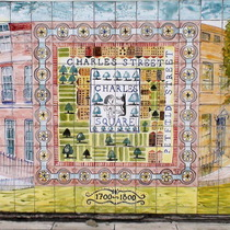 Charles Square mural - Charles Square