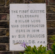 Sir Francis Ronalds - W6