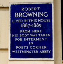 Robert Browning - W8
