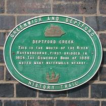 Deptford Creek bridge