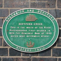 Deptford Creek bridge
