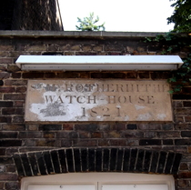St Mary Rotherhithe watch-house