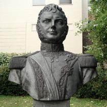 Bernardo O'Higgins bust