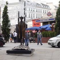 Bartok statue