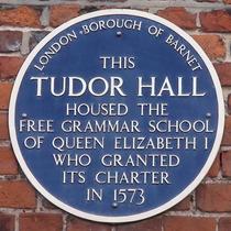 Tudor Hall - blue
