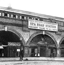 Spa Road Station