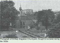St Mary Magdalen, Bermondsey, churchyard garden