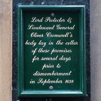 Cromwell's body