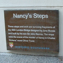 Nancy's Steps - plaque 1